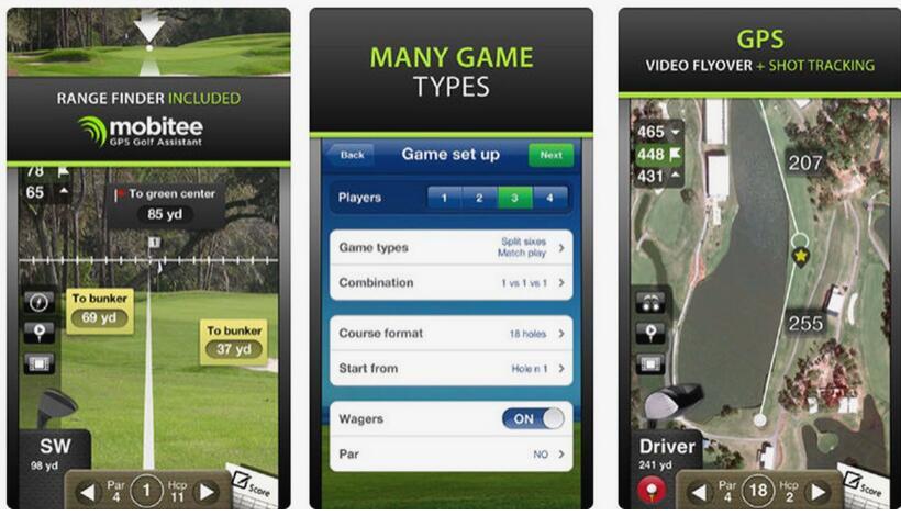 free golf rangefinder app