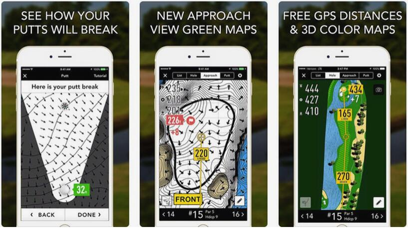 golf rangefinder app for apple watch