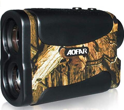 halo rangefinder with arc