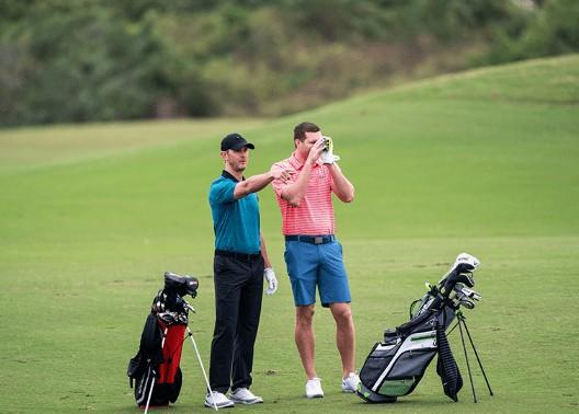 electronic golf range finder