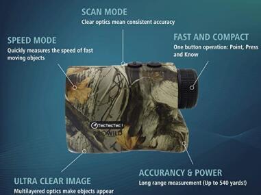 prowild laser rangefinder