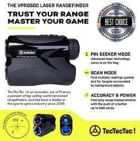 tectectec vpro500 golf rangefinder manual