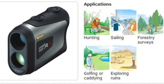 nikon 1000as laser rangefinder reviews